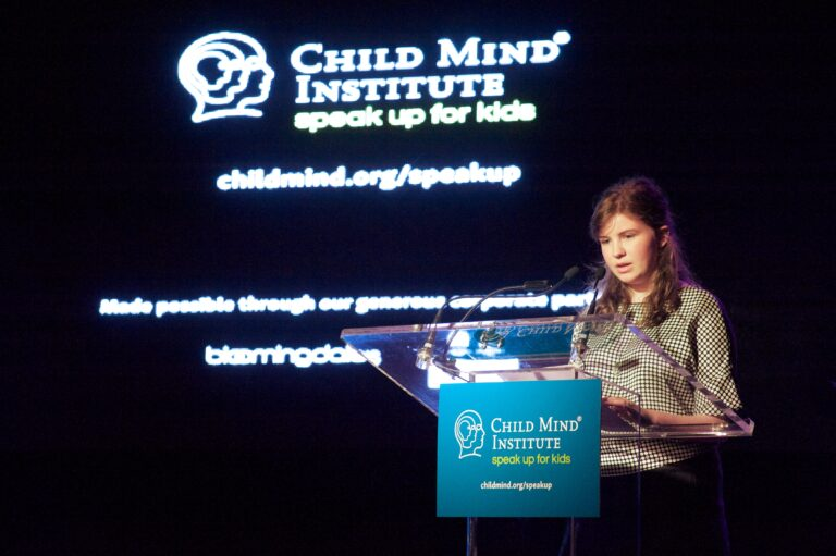 Alex at the 3rd Annual Child Mind Institute Change Maker Awards, May 9th, 2017.