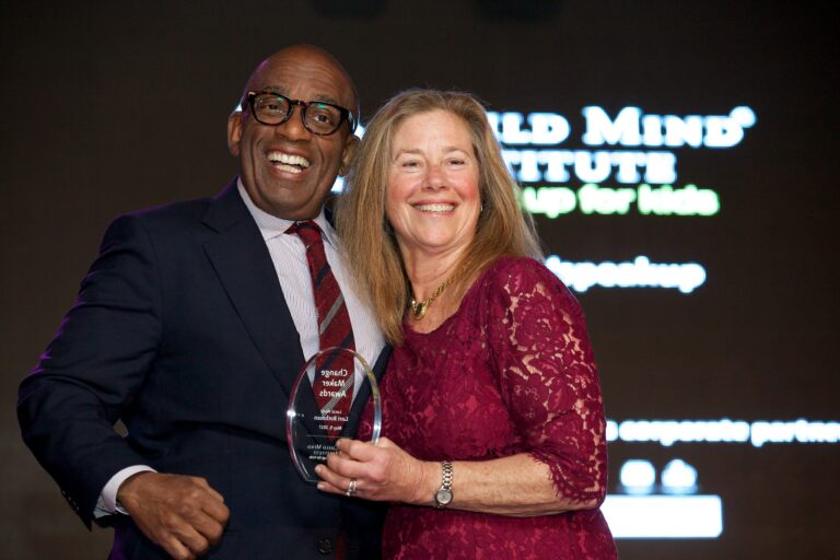 Al Roker and Lori Rothman at the 3rd Annual Child Mind Institute Change Maker Awards, May 9th, 2017.