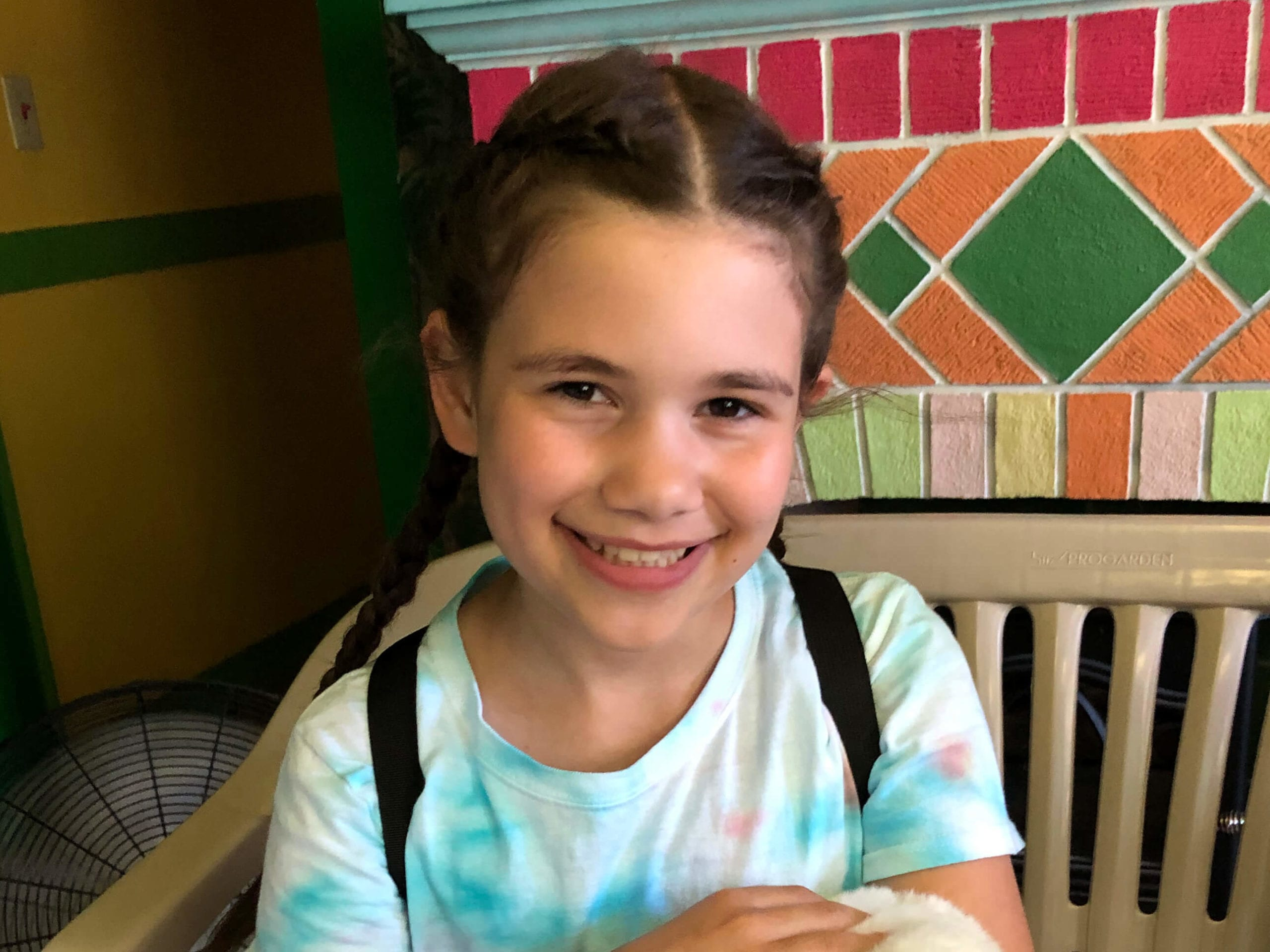 Mia had selective mutism until she was treated at the Child mind Institute