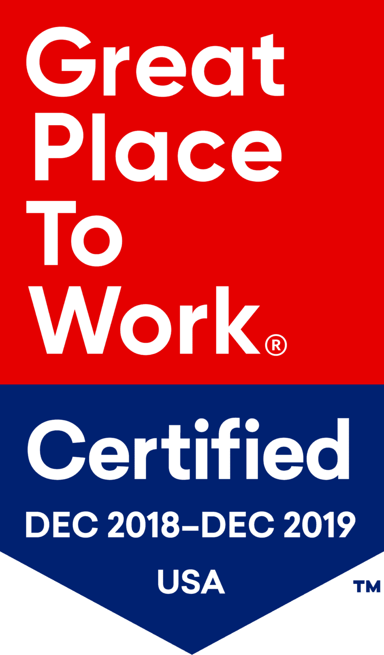 Child Mind Institute is certified as a great workplace by the independent analysts at Great Place to Work®.