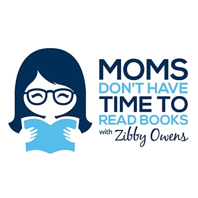 Moms don't have time to read books logo